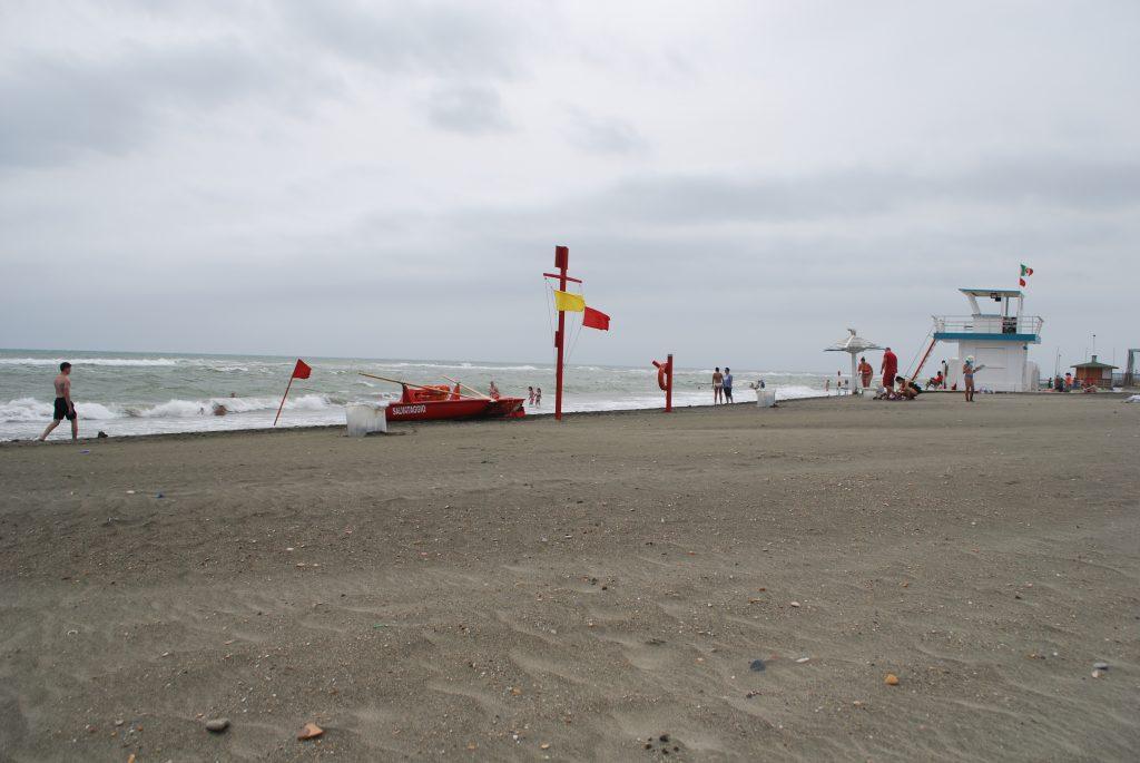 Plaża w Ostii