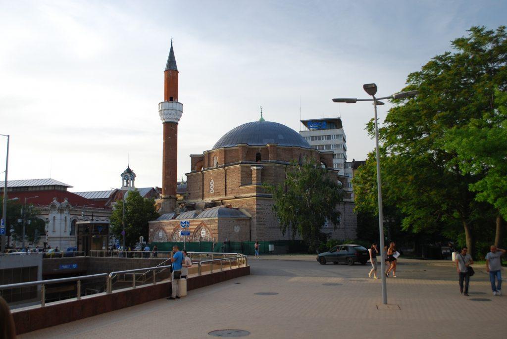 Sofia Central Mosque - Banya Bashi Mosque Централна джамия София - Джамия Баня Баши