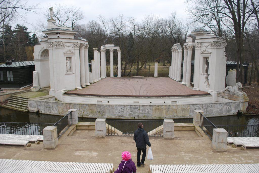 Amfiteatr w Łazienkach