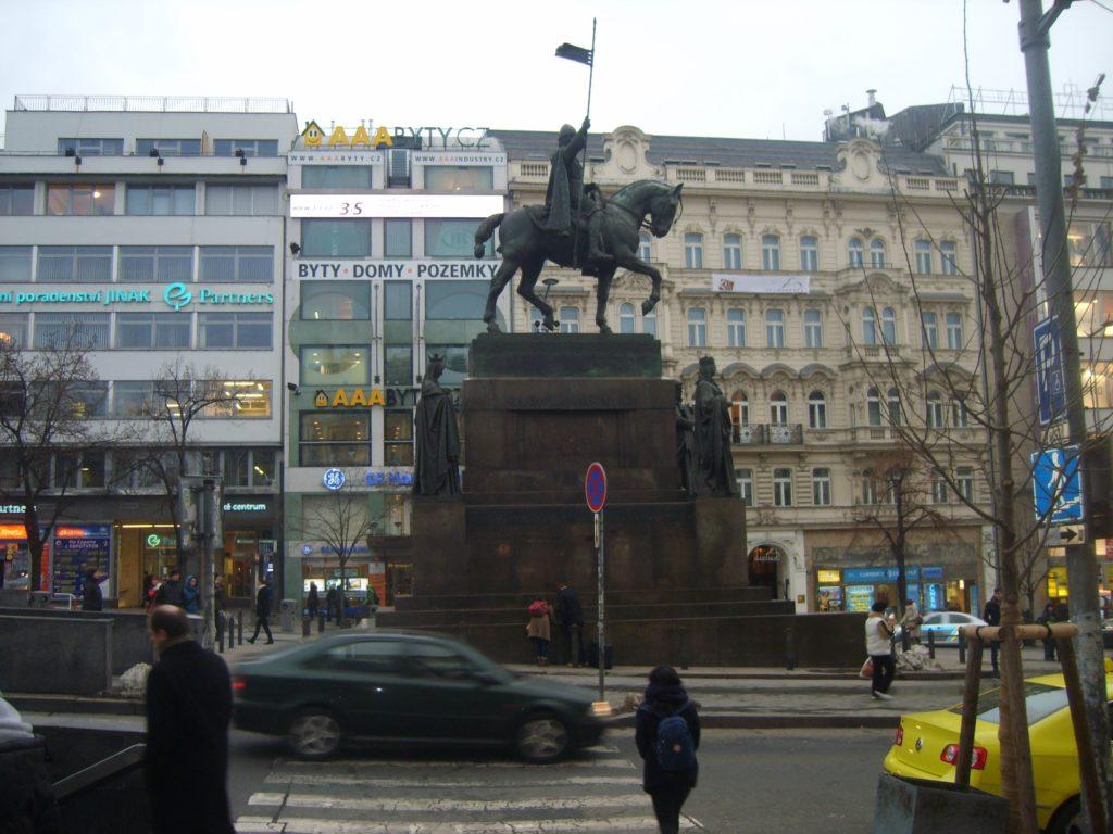 Pomník svatého Václava
