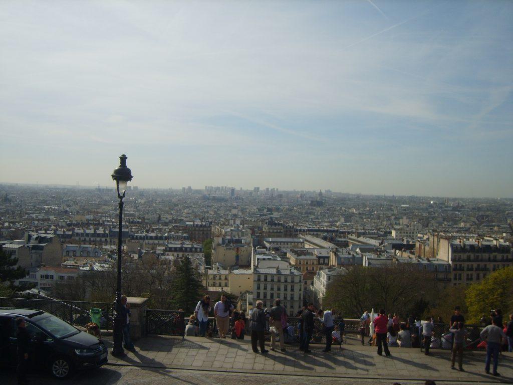 Widok z Bazyliki Sacré-Cœur Sacré-Cœur