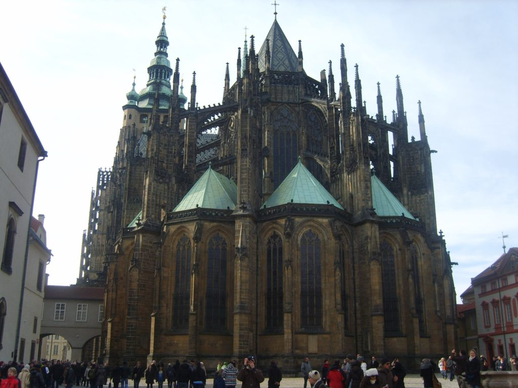 Katedra św. Wita Katedrála Sv. Víta