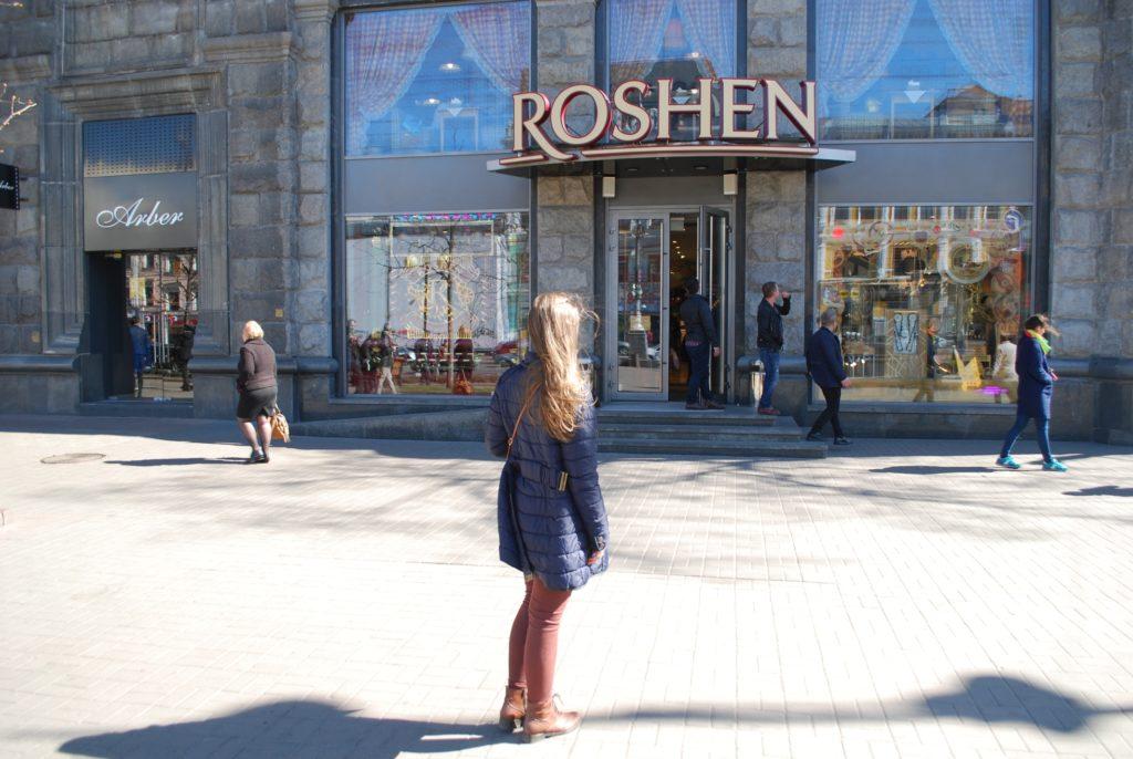 Firmowy sklep prezydenta Ukrainy