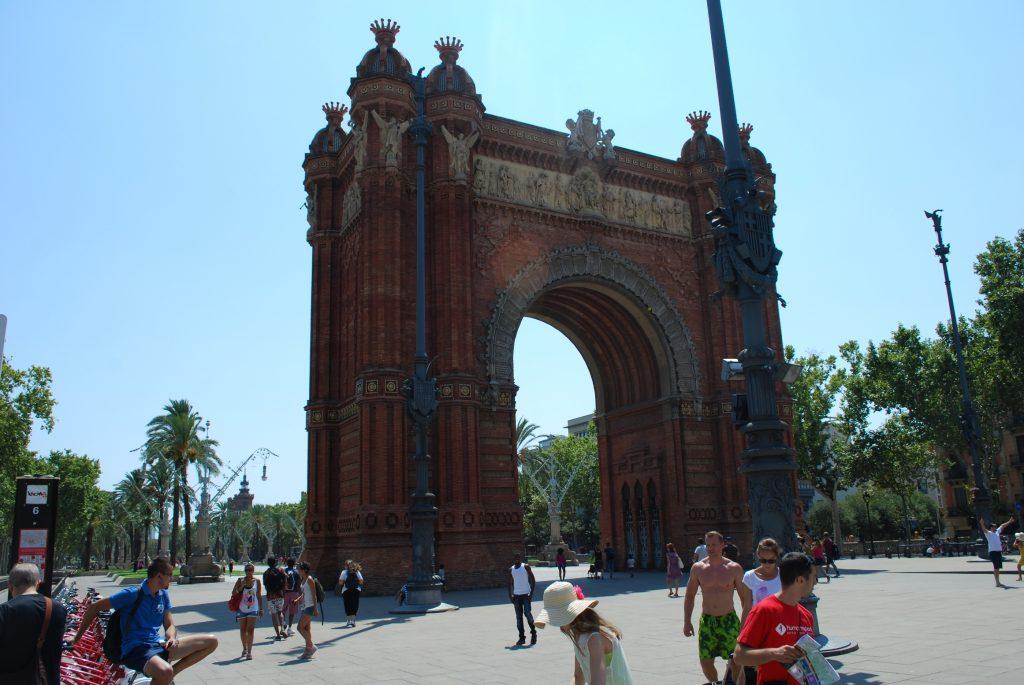 Arco de Triunfo de Barcelona Arc de Triomf