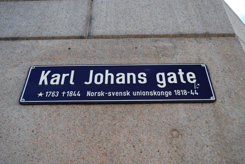 Karl Johans gate - główna ulica handlowa