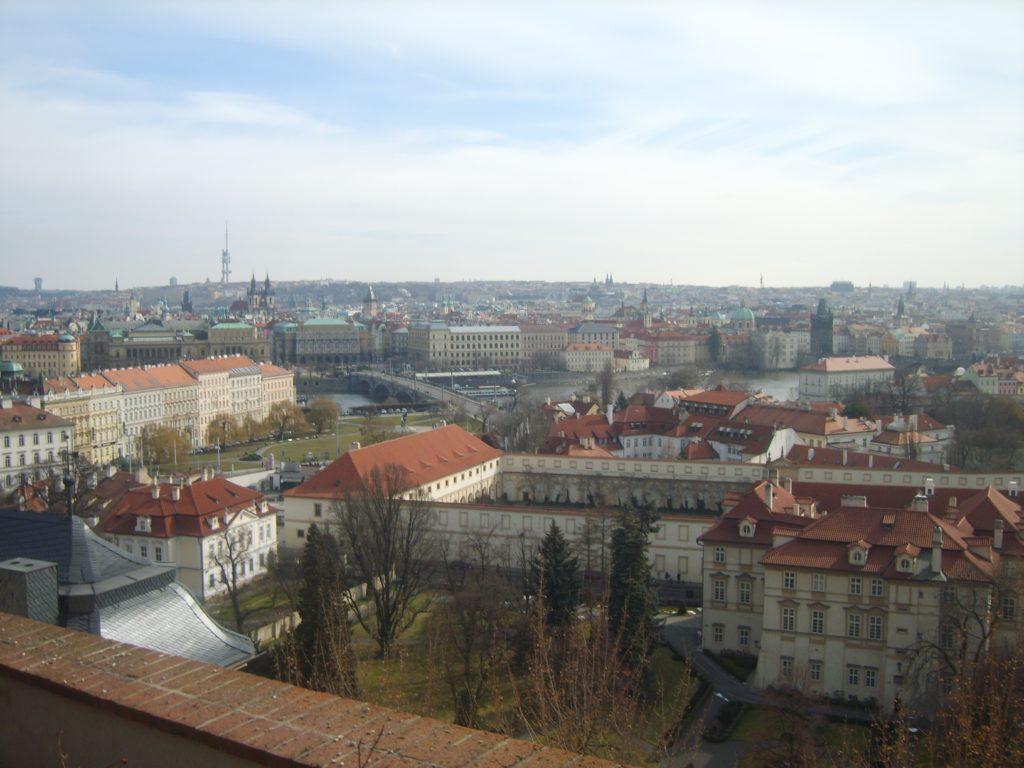 Widok z Hradczan