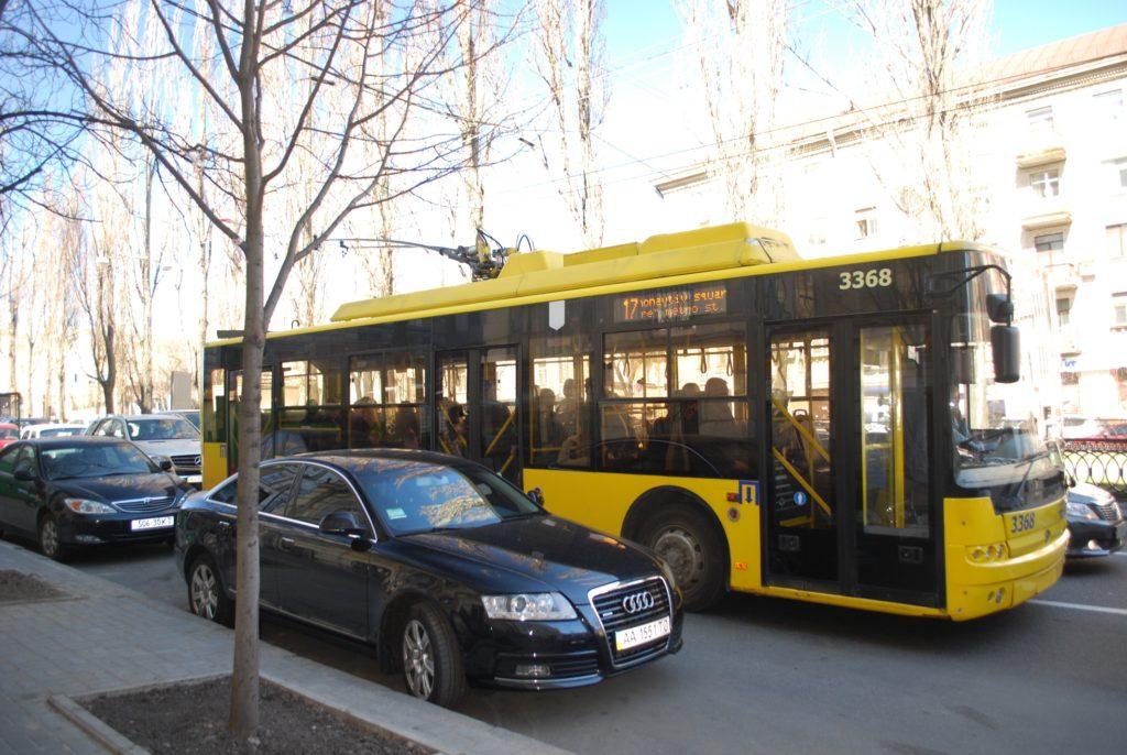 Trolejbusy w Kijowie